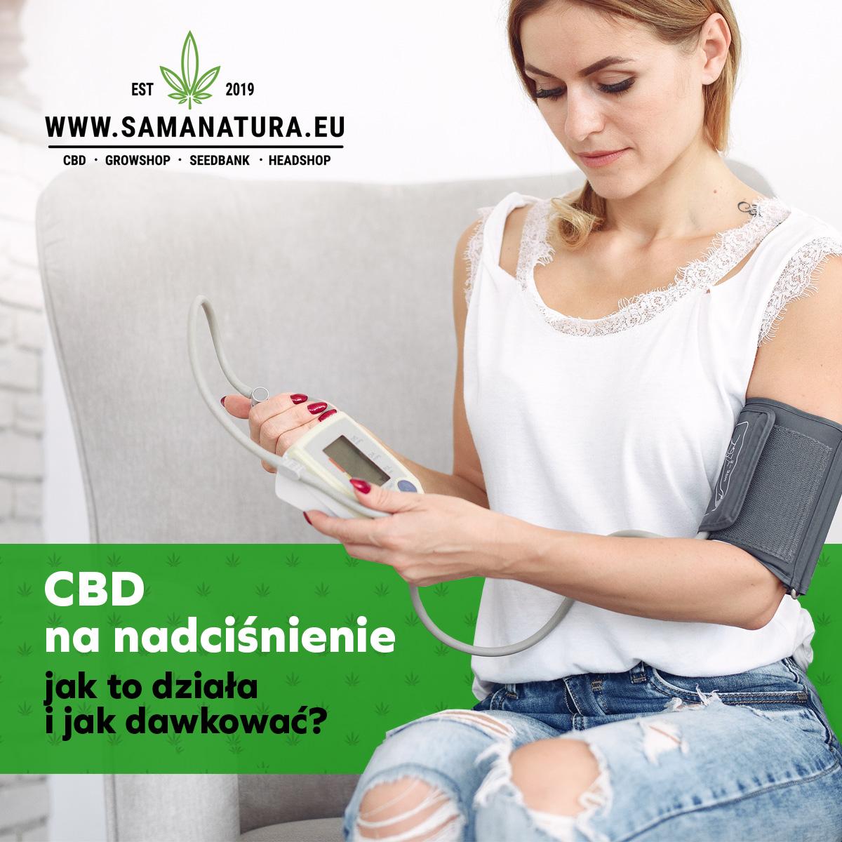 CBD na nadciśnienie
